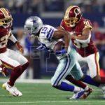 31-23. Amari Cooper hizo sentir su presencia y Cowboys comparten liderato