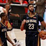 125-115. Davis logra 40 puntos en victoria de los Pelicans