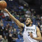 107-100. Towns logra doble-doble en triunfo de los Timberwolves