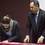 Se realiza firma de convenio de colaboración entre IDJ y CECATI # 91