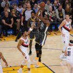 117-116. Durant logra 44 puntos y 13 rebotes en victoria sufrida de Warriors