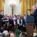 La Casa Blanca alteró vídeo para exagerar forcejeo de reportero, según medios