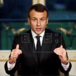 Emmanuel Macron llega a Buenos Aires para participar de la cumbre del G20