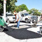 Lety Herrera da inicio a programa de bacheo permanente y drenaje pluvial