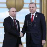 Putin visita mañana Turquía para inaugurar el gasoducto submarino TurkStream