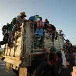 Segunda caravana sale de Ciudad de México mientras miles se reúnen en Tijuana