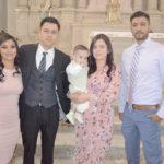 Inició su vida religiosa como nuevo hijo de Dios Padre el pequeño Ian Leonardo Meraz Seturino