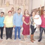 Galely Sosa Sierra recibió las aguas bautismales