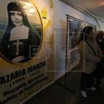 Bolivia conmemora a su primera santa con actos que enaltecen su legado