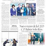 Edición impresa del 15 de diciembre del 2018