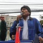 "Morales advierte a Estados Unidos de que Bolivia ""repudia toda injerencia"""