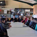 Visita Director de COBAED plantel de Peñón Blanco