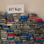 Incautan 1.200 kilos de cocaína frente a Puerto Rico y las Islas Vírgenes