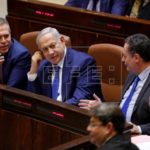 Parlamento israelí aprueba su disolución y adelanto electoral para 9 de abril