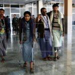 Sale el avión desde Saná a Omán con rebeldes yemeníes heridos