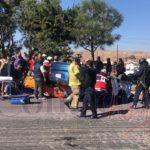 Murió el taxista que chocó contra camión y se volcó sobre el bulevar Colosio hace una semana