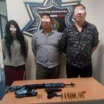 Capturados con un R-15 y una pistola en Gómez Palacio y Canoas de la Zona Centro