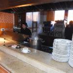 Baja clientela en restaurantes