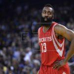 141-113. Harden consigue triple-doble en triunfo de los Rockets