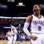 122-116. Westbrook logra el decimoquinto triple-doble y ganan los Thunder