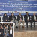 La educación media superior es un gran bastión para la UJED: Lozoya Vélez