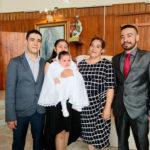 Recibió el Sacramento del Bautismo la pequeña Eva Sarahí Ramírez Cano