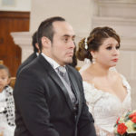 Contraen matrimonio religioso Citlaly Campa Rueda y César Alan Juárez Compeán