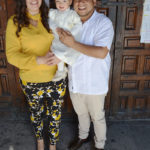 Julia Isabel Zúñiga Pérez recibió las aguas bautismales