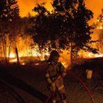 Incendios amenazan sectores poblados de varias localidades en el sur de Chile