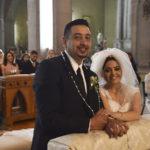 Consagraron su amor ante Dios Vanessa y Víctor