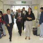 Visitó el rector Rubén Solís Ríos unidades académicas del campus Gómez Palacio de la UJED