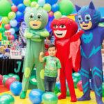 Jeshua Espinoza Solís celebró sus cinco años con una divertida fiesta