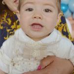 Bañaron con las aguas del Jordán al pequeño Miguel Ángel García Heredia