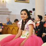 Hermosa quinceañera vivió la jovencita María Victoria