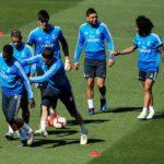 El Real Madrid termina la preparación de la visita a Anoeta sin Keylor