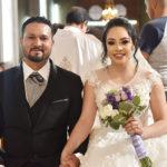 Unen sus vidas en sagrado matrimonio Perla Marlene y Galo Alonso