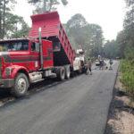 Con recursos propios atención a tramos carreteros: Secope