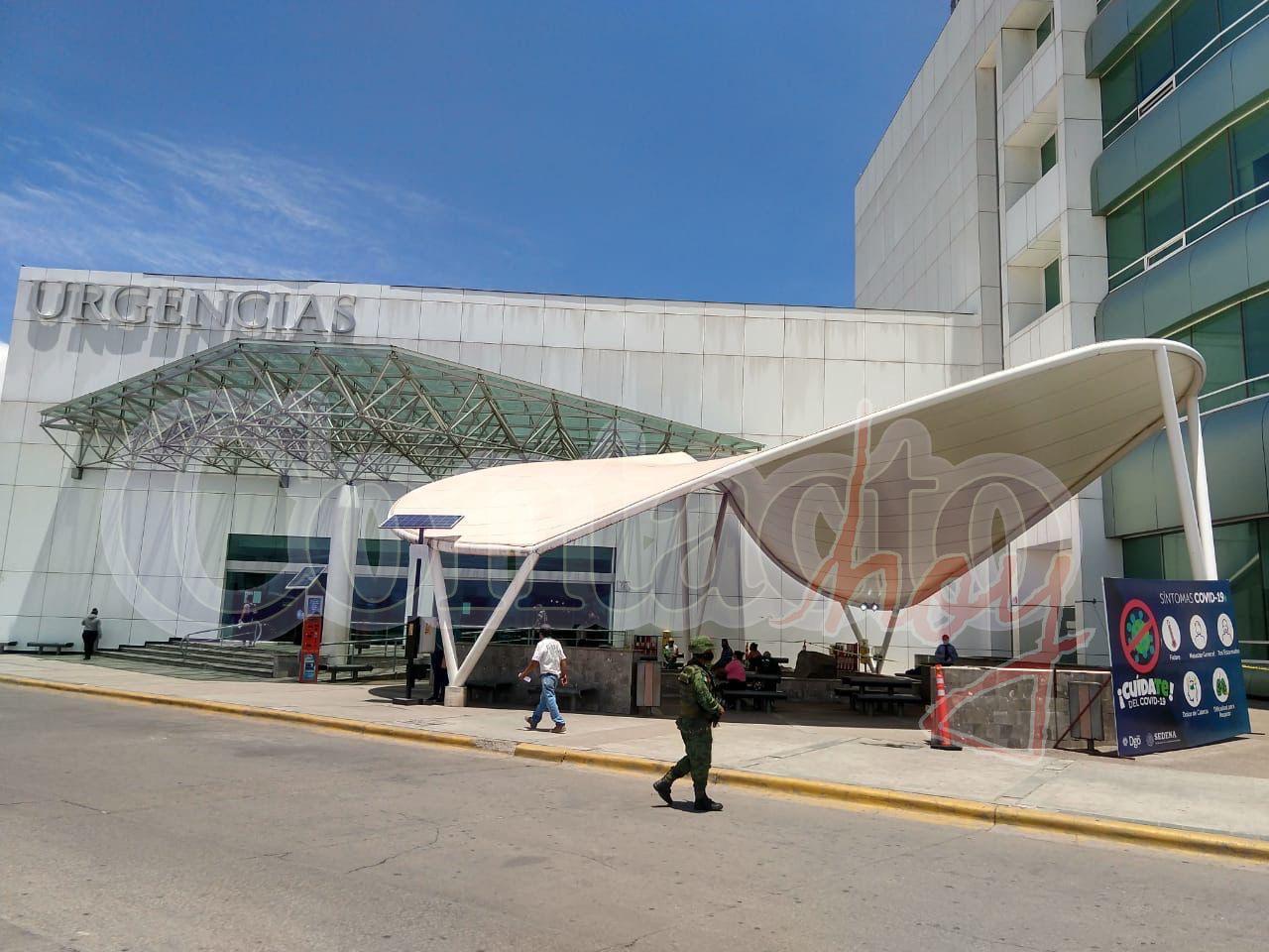 EL CORONAVIRUS satura los hospitales de Durango.